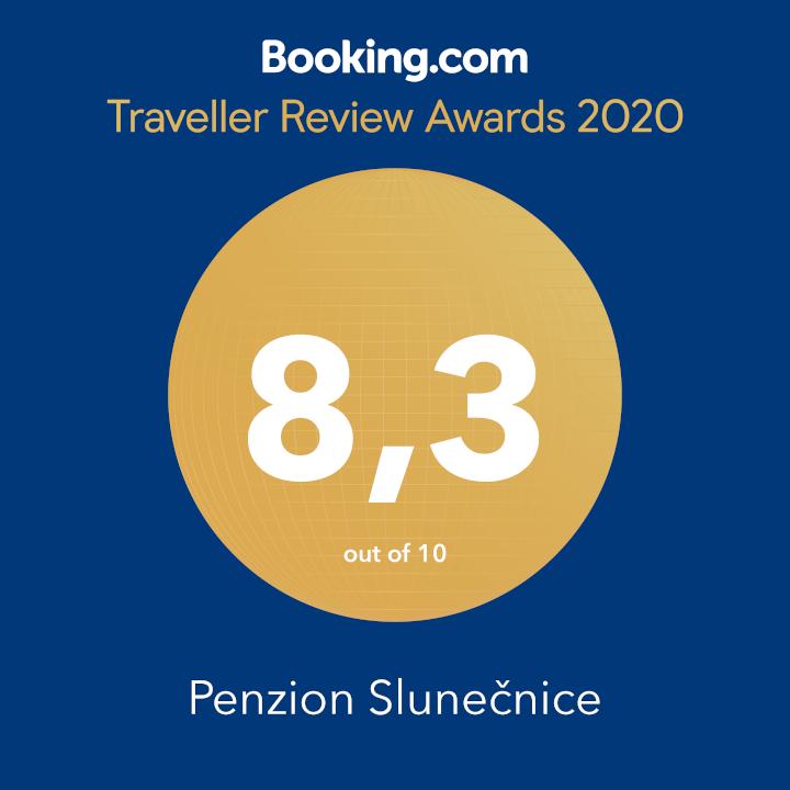 Certifikát Booking.com - Penzion Slunečnice
