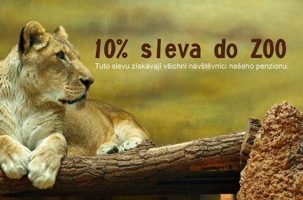 10% Sleva do ZOO